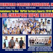 Tapsa Winners 2018 Final
